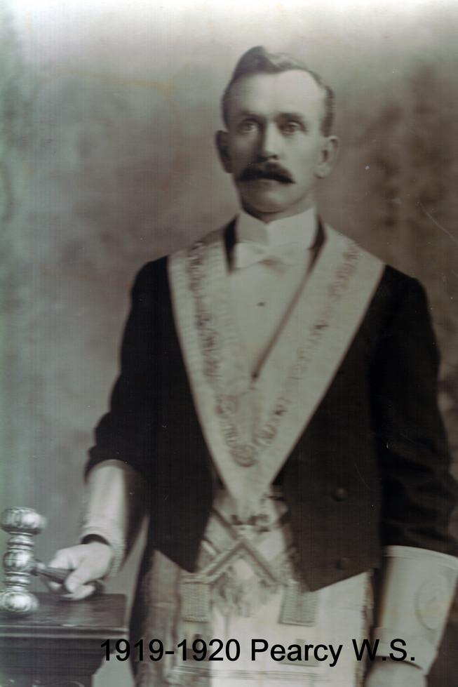 1919 R.W. Bro William S. Pearcy