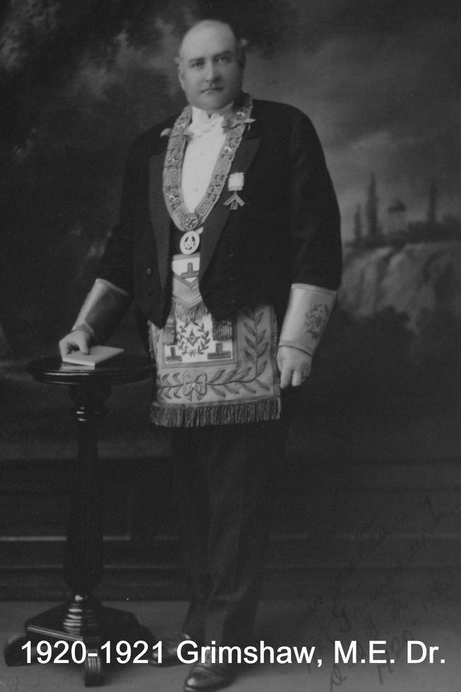 1920 R.W.  Bro.M.E.  Grimshaw