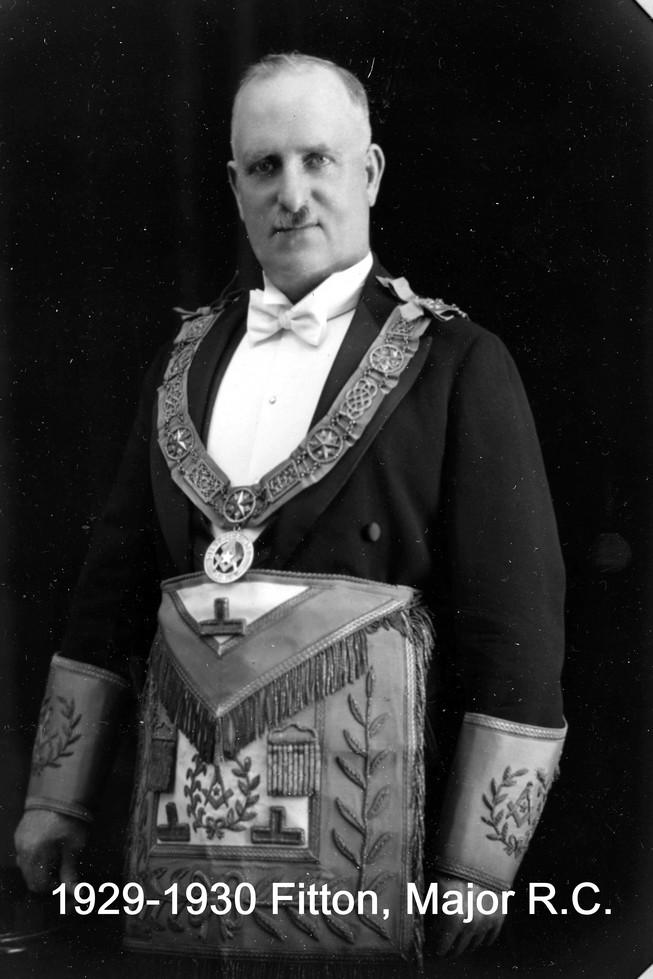 1929 R.W. Bro Richard C. Fitton