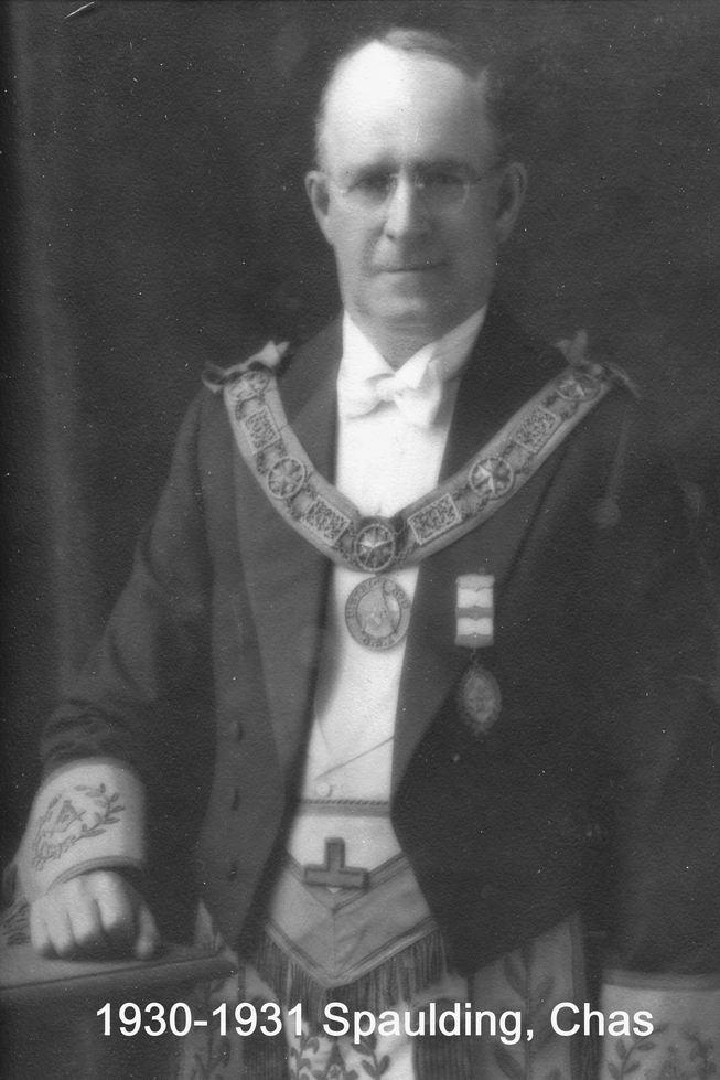 1930 R.W. Bro. Chas. S. Spaulding