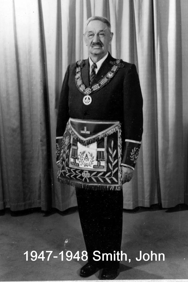 1947 R.W. Bro. John Smith