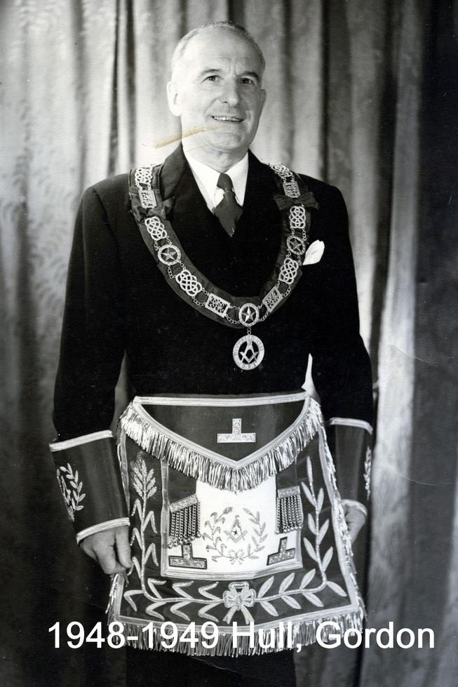 1948 R.W. Bro. Gordon Hull