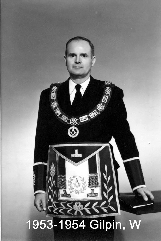 1953 R.W. Bro. William F. Gilpin
