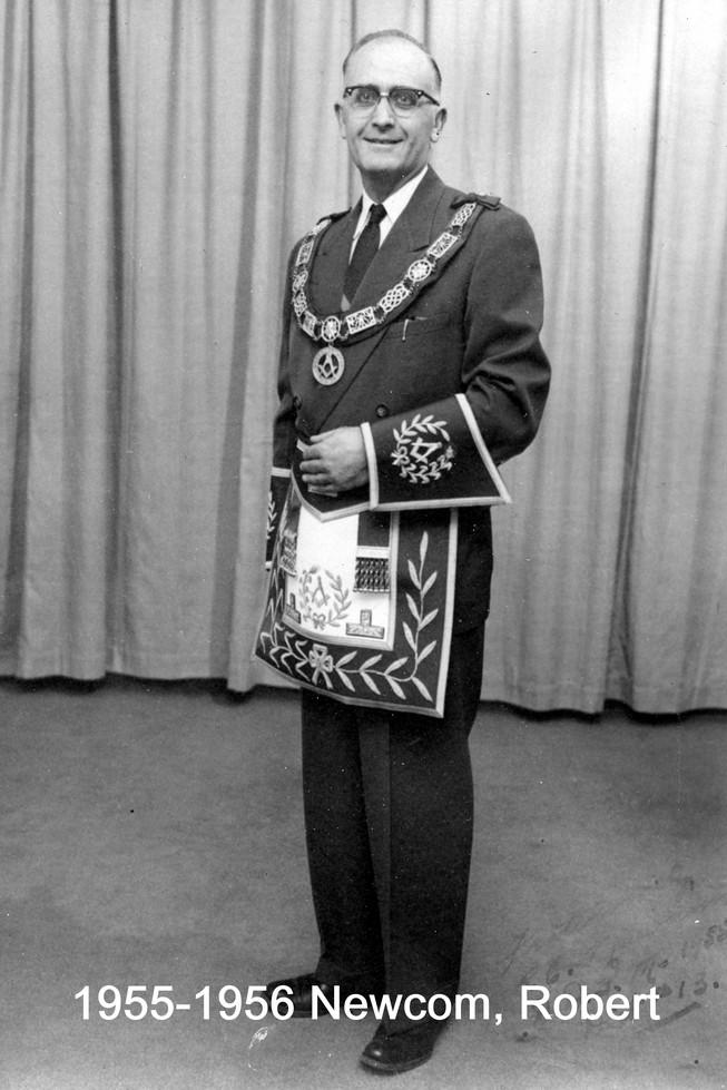 1955 R.W. Bro. Robert E. Newcom