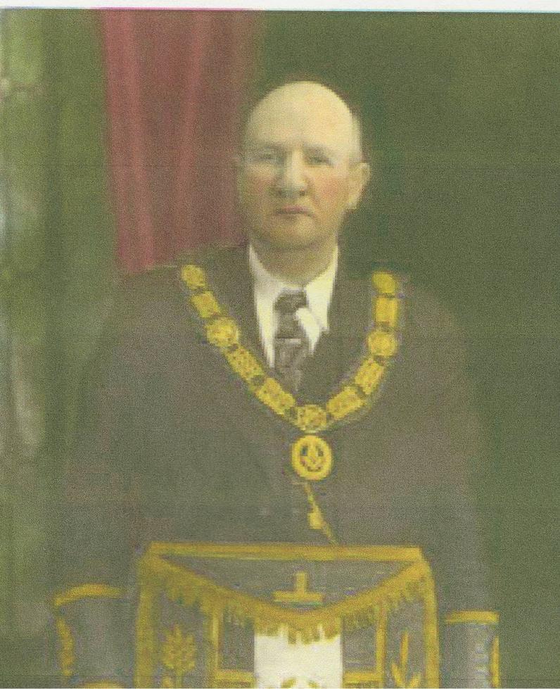 1945 R.W. Bro. Verner Maurice